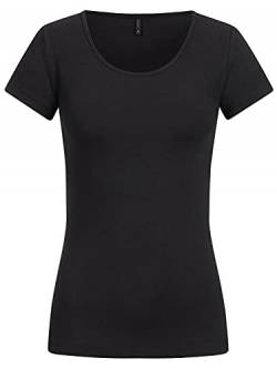 ONLY NOS (ONM0E) Womens Onllive Love S/S O-Neck TOP JRS Blouse, Schwarz, M von ONLY NOS (ONM0E)
