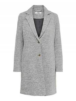 ONLY NOS Damen onlCARRIE MEL COAT OTW Mantel, Grau (Light Grey Melange), 34 von ONLY