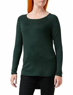 ONLY Damen Onlmila Lacy L/S Long Knt Noos Pullover, Mehrfarbig(green Gablesw Melange), XS EU von ONLY