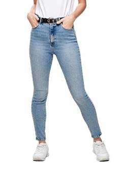 ONLY Damen Onlmila Hw Sk Ank Bj13502-1 Noos Jeans, Blau (Light Blue Denim Light Blue Denim), 26W 32L EU von ONLY