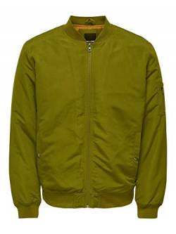 ONLY & SONS Male Jacke Bomber XLFir Green von ONLY & SONS