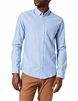 ONLY & SONS Herren onsALVARO LS Oxford Shirt NOOS Businesshemd, Blau (Cashmere Blue Cashmere Blue), Medium von ONLY & SONS