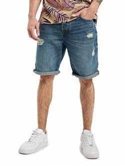 ONLY & SONS Male Jeansshorts ONSAvi Loose Blue 29Blue Denim von ONLY & SONS