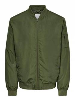 ONLY & SONS Male Jacke Bomber MOlive Night von ONLY & SONS