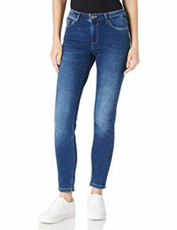 ONLY Damen Carmen Life Jeans, Dark Blue Denim, L30/W26 von ONLY
