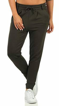 ONLY Damen ONLPOPTRASH Easy Colour Pant PNT NOOS Hose, Peat, L/30 von ONLY