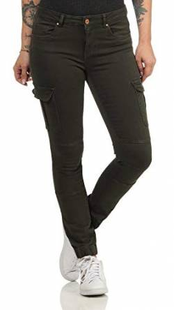 ONLY Female Cargohose Knöchellange Cargohose 3434Rosin von ONLY