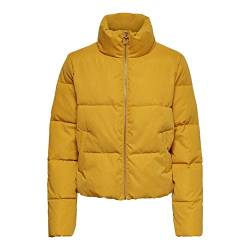 ONLY Damen Onldina Short Quilted Puffer Cc OTW Jacke, Gelb (Golden Yellow Golden Yellow), X-Large (Herstellergröße:XL) von ONLY