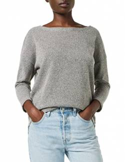ONLY Damen ONLALBA 3/4 TOP JRS NOOS T-Shirt, Grau (Light Grey Melange Light Grey Melange), XS von ONLY