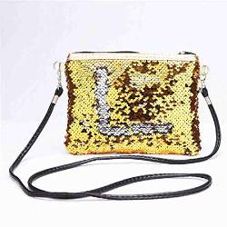 OYHBGK Kosmetiktasche   Laser Holographic Short Cute Purse Kleine   Frauen Folding Card Holder von OYHBGK