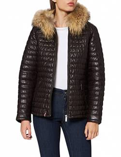 Oakwood Damen Happy Jacke, Braun (Choco 0505), Large von Oakwood