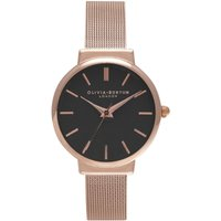 Olivia Burton The Hackney The Hackney Silver Rose Gold & Rose Gold Damenuhr in Rosegold OB15TH08B von Olivia Burton