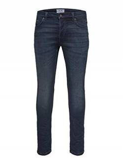 Only & Sons NOS Herren ONSLOOM Dark Blue Sweat PK 3631 NOOS Slim Jeans, Blau Denim, W33/L34 (Herstellergröße: 33) von Only & Sons NOS