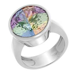 Orphelia Damen-Ring Rainbow Collection 925 Sterlingsilber Multicolor Zirkonia Gr. 56 (17.7) CC-25/56 von Orphelia