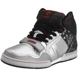 Osiris Herren Casual, Silver/Black/Red, 4 UK von Osiris
