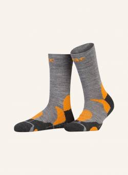 P.A.C. Trekking-Socken Pro orange von P.A.C.