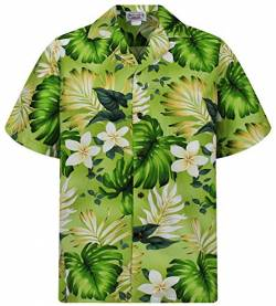 Hawaiihemd Hawaiishirt original made in Hawaii, Größe S, grün von P.L.A.