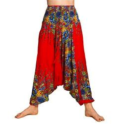 PANASIAM Aladin Pants Flower red von PANASIAM