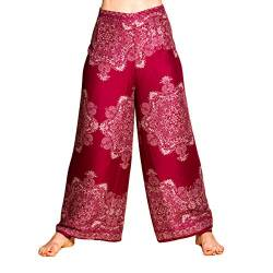 PANASIAM Sunshine Pants Two in bordeux red v2 von PANASIAM