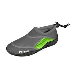 PI-PE Badeschuh Active Aqua Shoes Junior 20 Grey/Green von PI-PE
