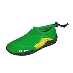 PI-PE Badeschuh Active Aqua Shoes Junior 21 Green/Yellow von PI-PE