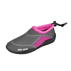 PI-PE Badeschuh Active Aqua Shoes Junior 21 Grey/Pink von PI-PE