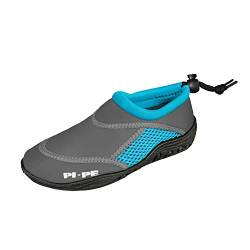 PI-PE Badeschuh Active Aqua Shoes Junior 23 Grey/Cyan von PI-PE