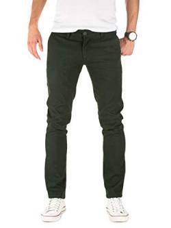 PITTMAN Herren Chino Hose Type - Slim Fit - Chinohose Gemustert, Grün (Jet Set 195708), W32/L34 von PITTMAN