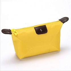 Cosmetic Bag Cosmetic Bag Kit-lila Reisetasche Tasche (Color : Yellow) von PLBB3K