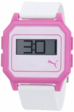 Puma Time Active Damen-Armbanduhr Flat Screen Digital Plastik A.PU910951006 von PUMA
