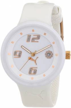 Puma Time Motorsport Damenuhr SLICK LADIES 3HD WHITE A.PU910672002 von PUMA