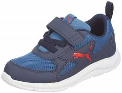PUMA Unisex Baby Fun Racer Ac Ps Sneaker, Blau (Bright Cobalt-High Risk Red 03), 29 EU von PUMA