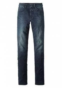 Paddocks`s Damen Jeans Pat - Slim Fit - Blau - Soft Blue Black, Größe:W36/L34, Farbe:Soft Blue Black (6002) von Paddocks