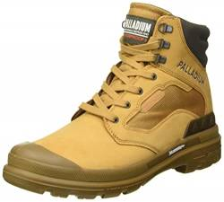 Palladium Herren Pampa W Tech Waterproof Stiefelette, Amber Gold, 46 EU von Palladium