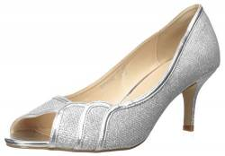 Paradox London Damen Chester Pumps, Silber, 36.5 EU von Paradox