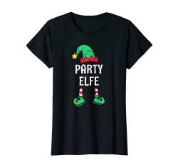 Damen Party Elfe Partnerlook Familien Outfit Frauen Weihnachten T-Shirt von Partnerlook Weihnachten Familien Outfits by KaMi