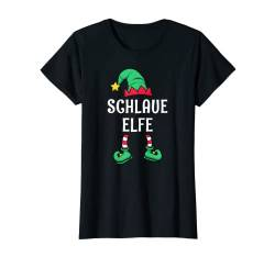 Damen Schlaue Elfe Partnerlook Familien Outfit Frauen Weihnachten T-Shirt von Partnerlook Weihnachten Familien Outfits by KaMi