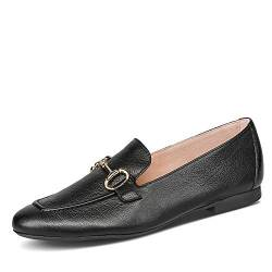 Paul Green Damen SUPER Soft Loafer 2596, Frauen Slipper, schlupfhalbschuh Slip-on College Schuh Loafer businessschuh weibliche,Black,4 UK / 37 UK von Paul Green