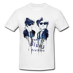 The Blues Brothers Premium Herren T-Shirt Motiv aus Paul Sinus Aquarell von Paul Sinus Art
