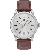 Paul Smith Block Herrenuhr in Braun P10022 von Paul Smith