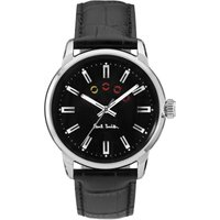 Paul Smith Block Herrenuhr in Schwarz P10021 von Paul Smith