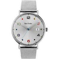 Paul Smith Gauge Colour Herrenuhr in Silber PS0060001 von Paul Smith