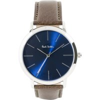 Paul Smith MA Leather Strap Herrenuhr in Braun P10091 von Paul Smith