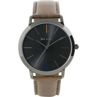 Paul Smith MA Leather Strap Unisexuhr in Braun P10090 von Paul Smith