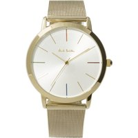 Paul Smith MA Mesh Bracelet Unisexuhr in Gold P10092 von Paul Smith