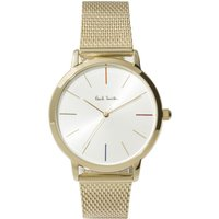 Paul Smith MA Small Mesh Unisexuhr in Gold P10103 von Paul Smith