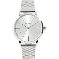 Paul Smith MA Small Mesh Unisexuhr in Silber P10102 von Paul Smith