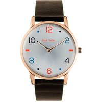 Paul Smith Slim Herrenuhr in Braun PS0100005 von Paul Smith