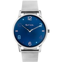 Paul Smith Slim Herrenuhr in Silber PS0100004 von Paul Smith