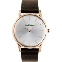 Paul Smith Slim Unisexuhr in Braun PS0100002 von Paul Smith